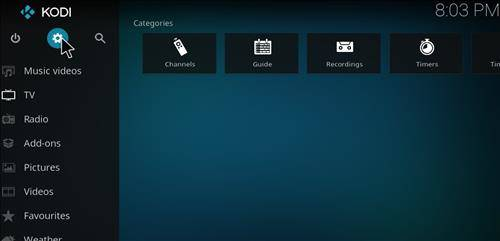 How to Install Covenant Addon on Kodi Step 1