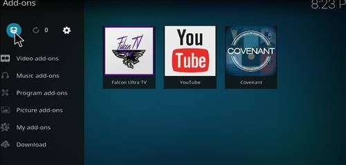 How to install covenant addon kodi step 9