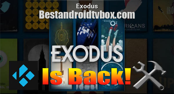 Exodus Kodi is Back Up - Easy Step Install Guide