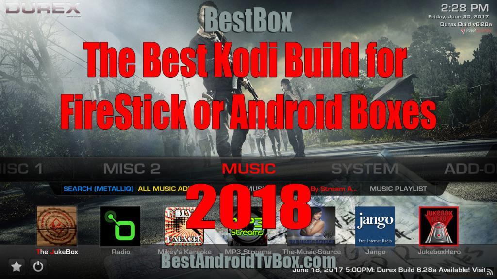 best kodi build for firestick and android featured image
