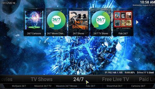 best kodi build titanium screenshot 3