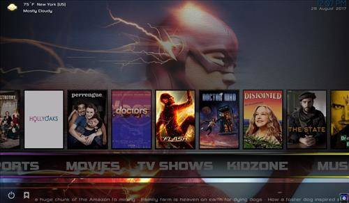 best kodi build Cellar Door screenshot 1