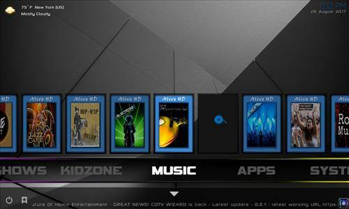 CellarDoor Build kodi Complete