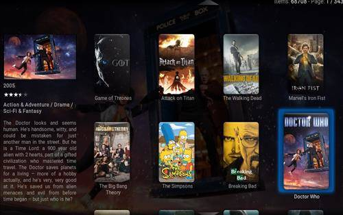 best kodi build Pulse screenshot 2