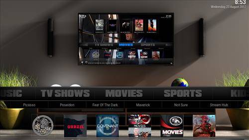 best kodi build Pulse screenshot 1