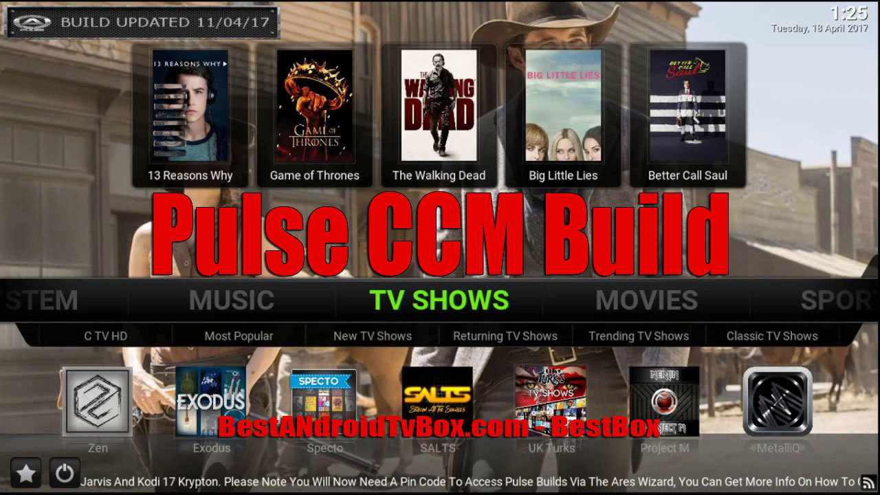 Pulse Kodi CCM Install - Easy Step Guide