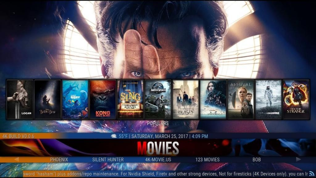 best kodi build for firestick cosmic saints build screenshot 2