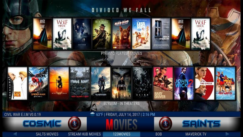 best kodi build for firestick cosmic saints build screenshot 1