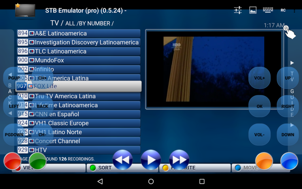 Iptv Kodi Screenshot 1