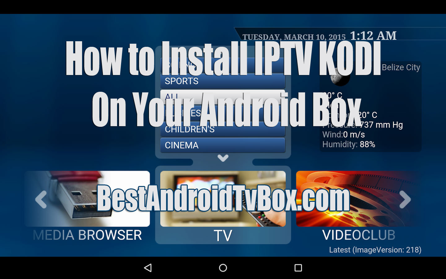 How to Install Iptv Kodi - BestBox