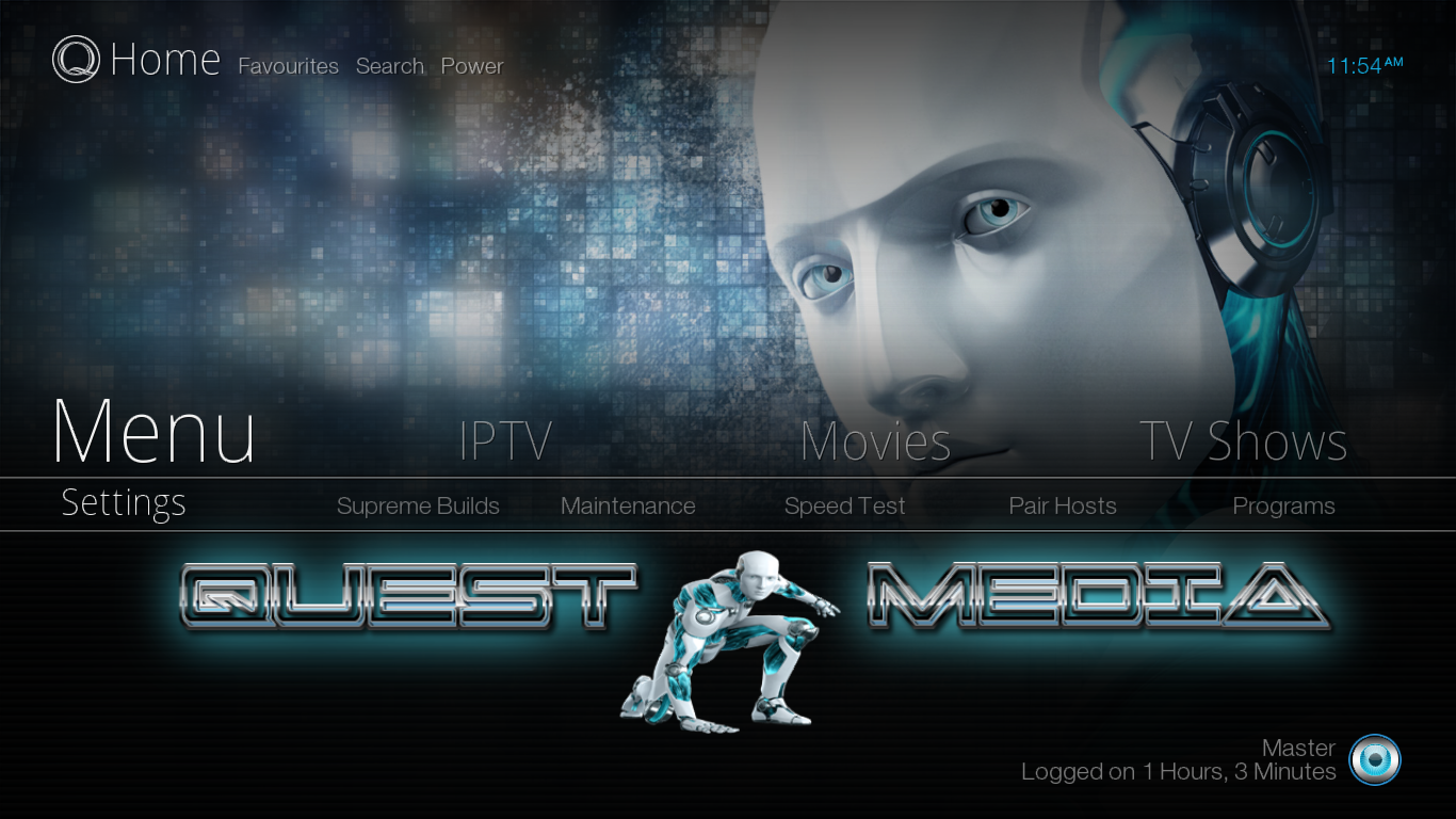 How to Install Quest Media Build on Kodi Krypton 17.6