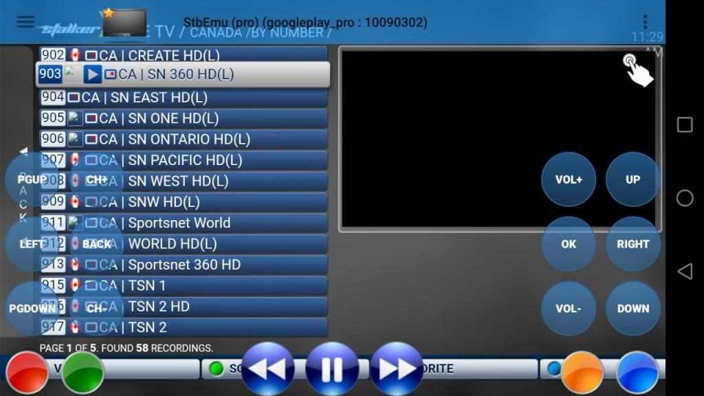 iptv canada channel lineups