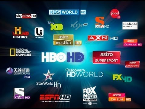 IPTV Subscription channel listing