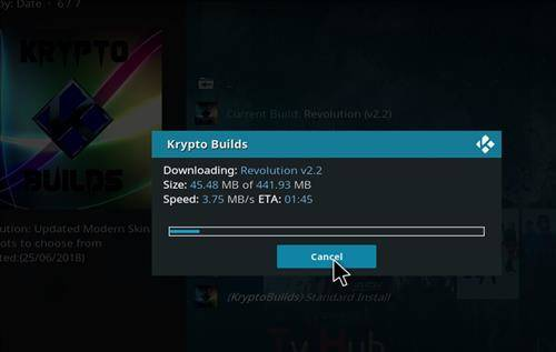 downloading and installing revolution build