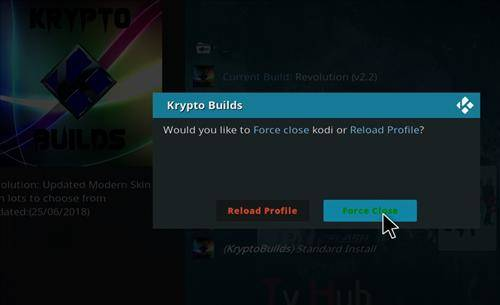 How to install revolution kodi 18 leia build step 21