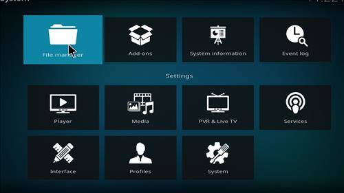 How to Install Diggz Aurora Build kodi 18 step 2