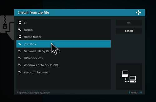 How to Install flixnet addon kodi step 11