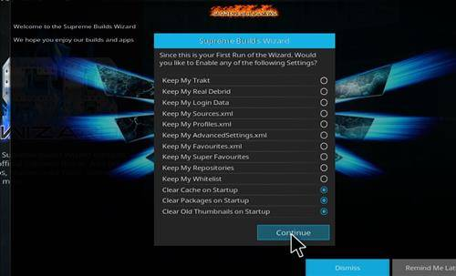 How to install X4 Kodi Build Step 21