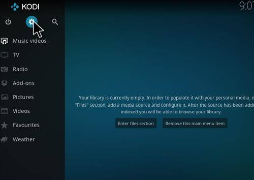 How to install placenta addon in kodi step 1
