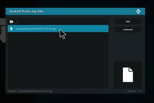 How to install placenta addon in kodi step 12