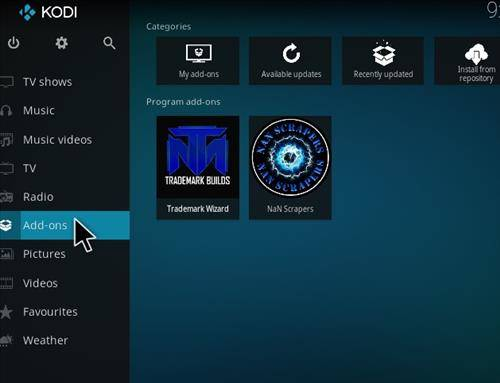 How to install placenta addon in kodi step 8