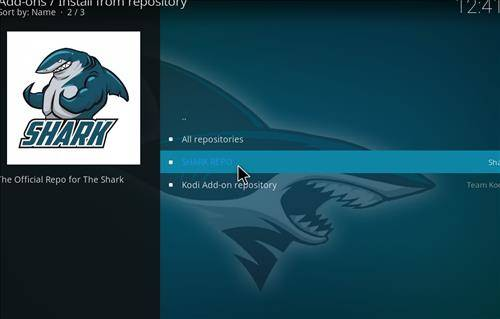 shark repository for sports classic addon
