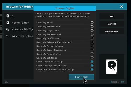 How to install bk nox kodi build step 15