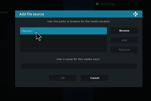 How to install siren build on kodi step 4