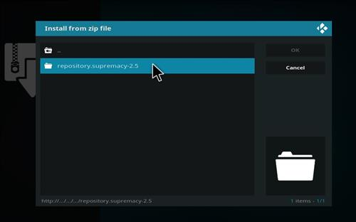 How to install supremacy addon on kodi 18 leia step 12
