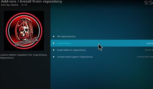How to install supremacy addon on kodi 18 leia step 16