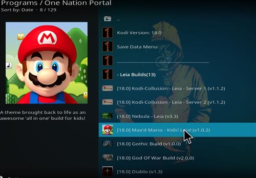 how to install max mario kids build step 22