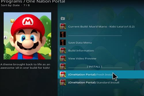 how to install max mario kids build step 23