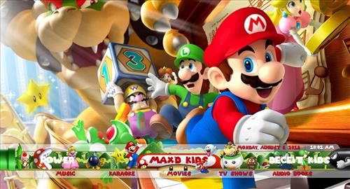 main image for mario kids build